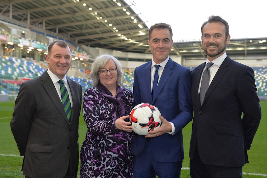 Ulster University and Irish FA to create island of Ireland's first football coaching degree