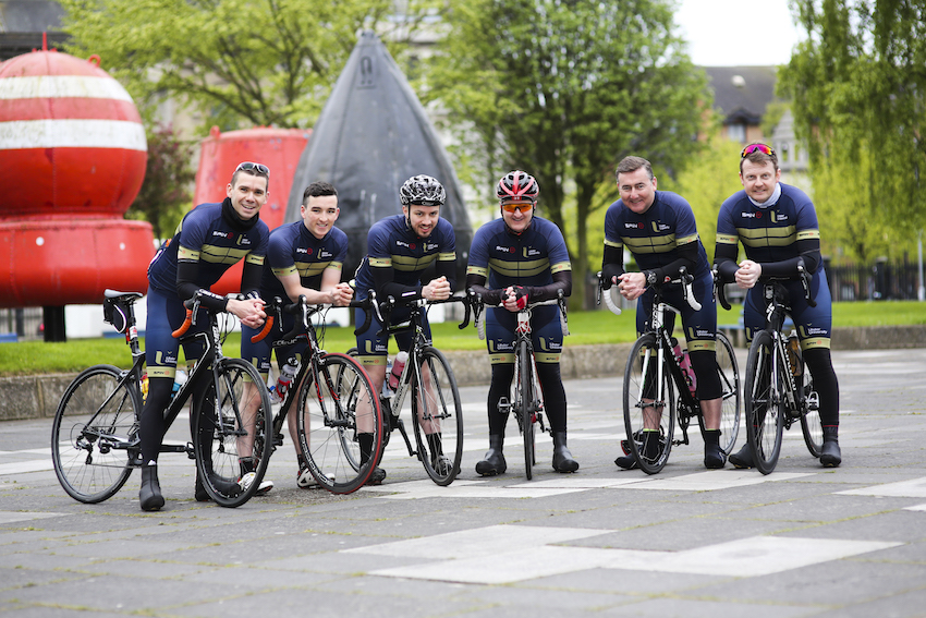 Wheels in motion for Ulster University charity cycle in support of student mental health
