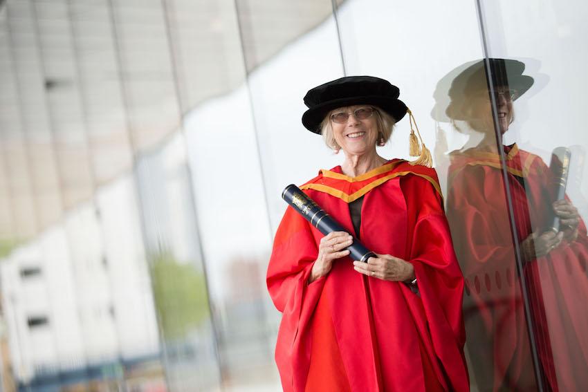 Honorary Graduate Dr Sally O'Neill