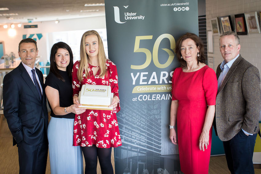 Ulster University celebrates 50 years at Coleraine