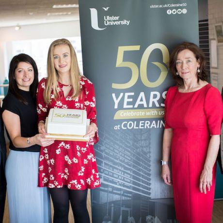 Ulster University celebrates 50 years at Coleraine