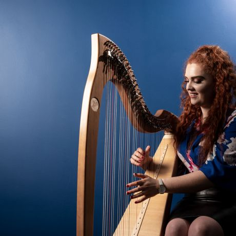 National Harp Day at Magee campus
