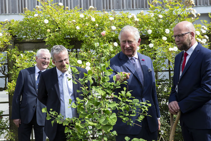 HRH The Prince of Wales joins Ulster University to celebrate 50 years of the Coleraine Campus