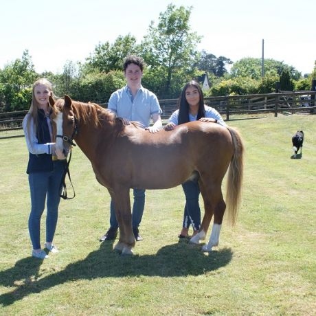 Ulster University students pitch 'Crafted Equestrian' business ideas to international investors in Philadelphia