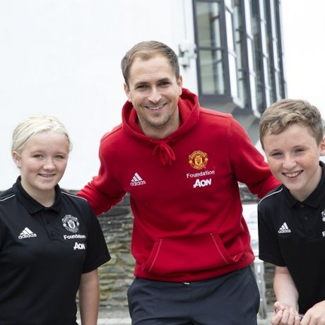 Manchester United Foundation and Ulster University team up to engage and inspire young people
