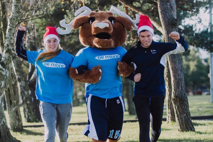 Santa Run kicks off Ulster University's Mind Your Mood fundraising 2018/19