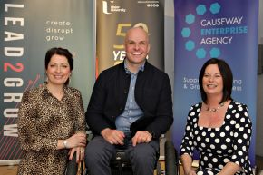 Ulster University and Causeway Enterprise Agency event encourages local businesses to harness their creativity to survive and thrive post Brexit