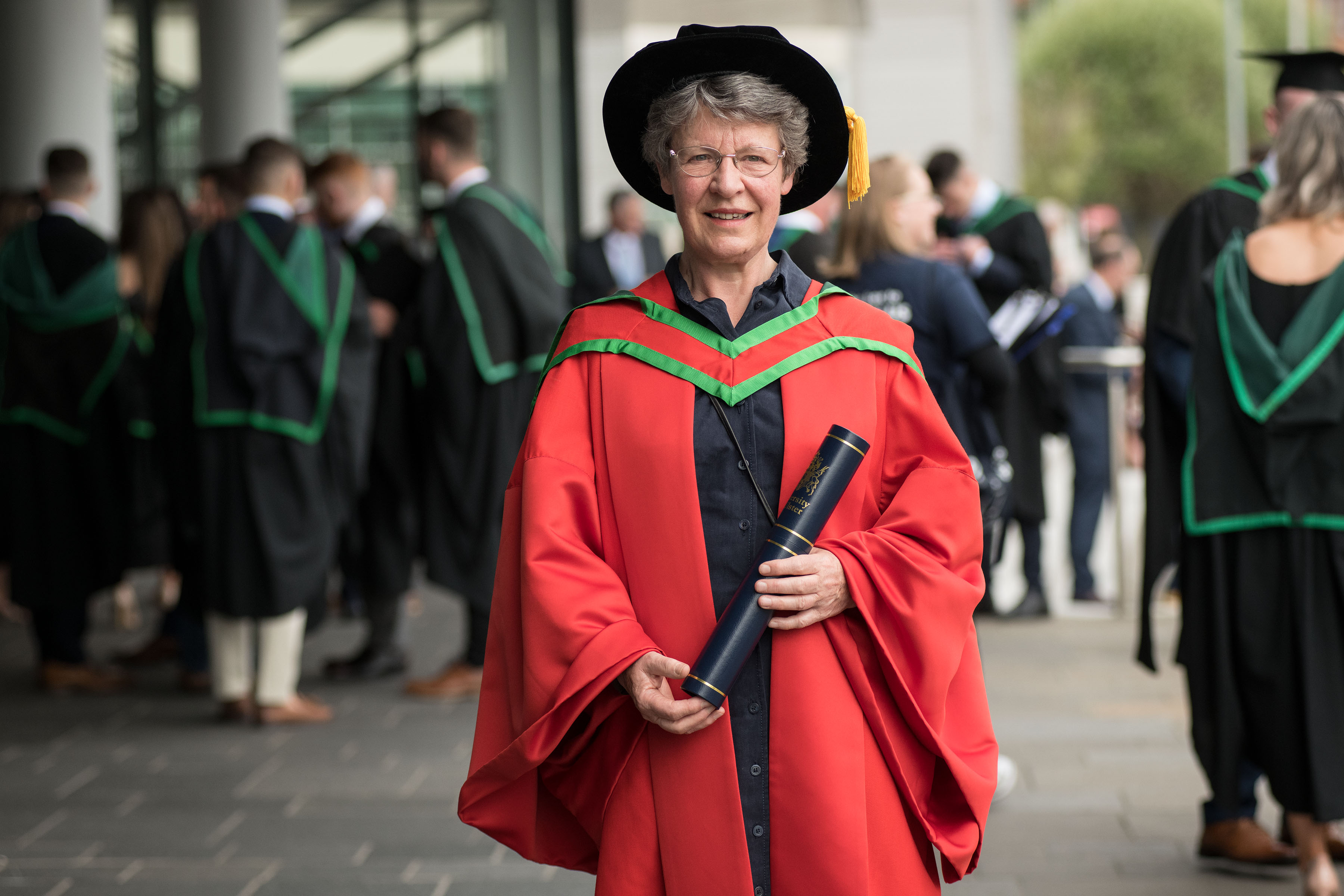 Internationally recognised scientist honoured by Ulster University