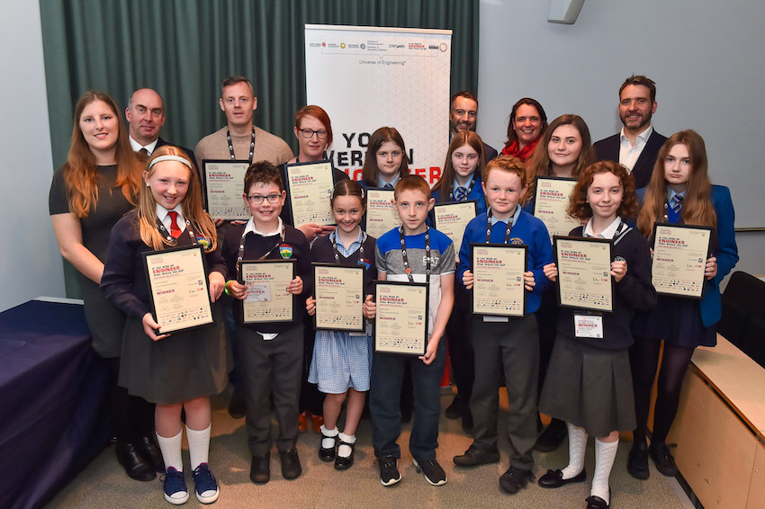 St Mary's College runaway success in awards recognising future of engineering in UK
