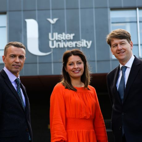 Senior Government Minister tours Coleraine Campus to meet with students and staff