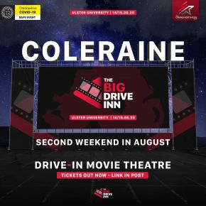 Drive-in Cinema coming to Coleraine campus