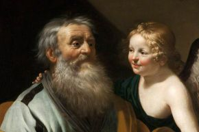 "Art Unwrapped 2020 : ""Saint Matthew and the Angel"""