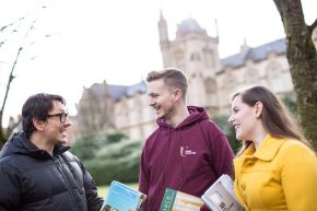 The revised outline business plan for the expansion of Ulster University's Magee campus includes the primary objective of reinforcing and growing Derry~Londonderry's reputation as a vibrant University city.