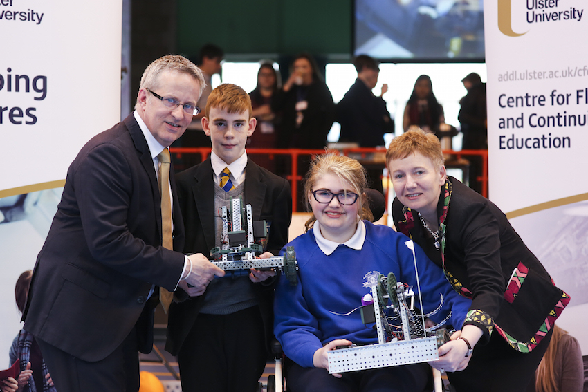 Ulster University supports budding engineers to solve robotics challenge