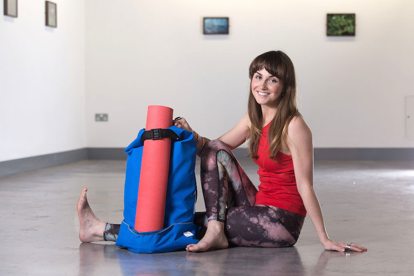 Ulster University graduate turns yoga passion into new business