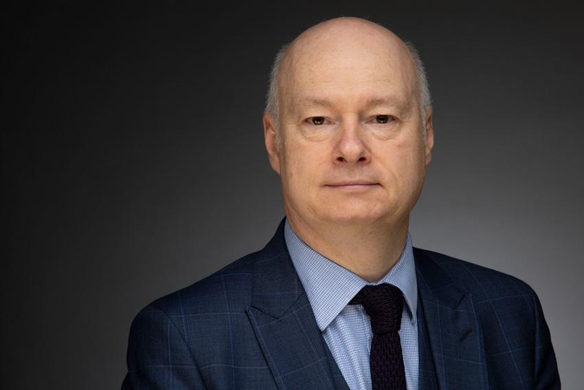 Paul Bartholomew - interim Vice-Chancellor