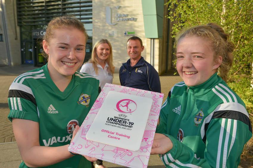 Ulster University awarded UEFA championship training venue status