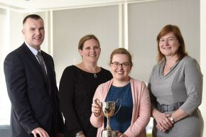 Top Ulster University Library and Information graduate wins Allen & Overy Award