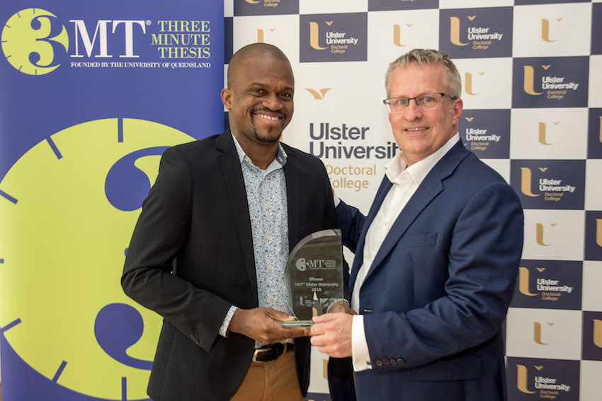 Ulster University hosts Three Minute Thesis competition