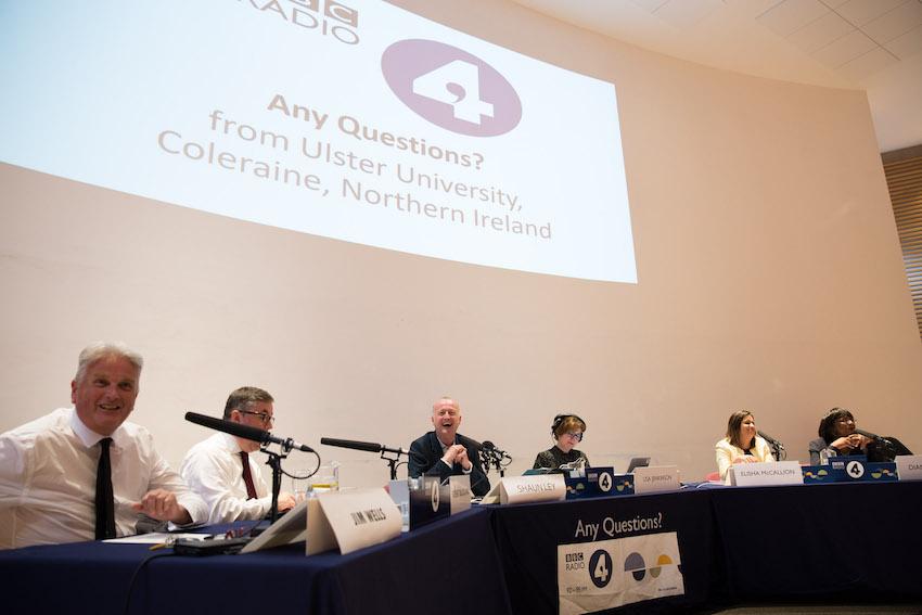 Ulster University hosts BBC Radio 4 live UK-wide debate in Coleraine