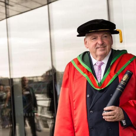 Ulster University honours President of Ireland's largest accountancy body