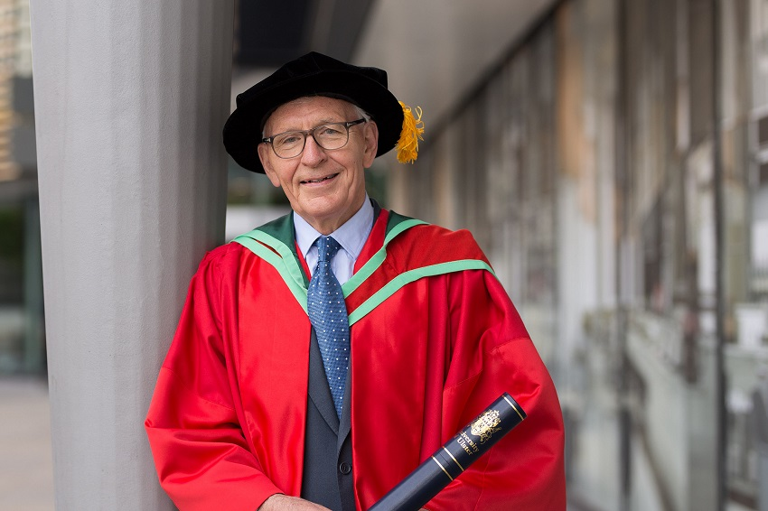 Honorary Graduate: Dr Alan Livingston CBE