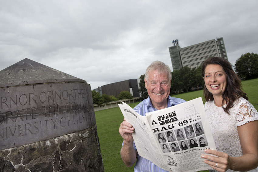 Ulster University searches for students from 1960's and 1970's - the NUU days