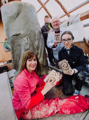 Impressive sculpture to mark 50 years of Ulster University in Coleraine