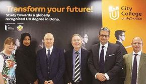 Ulster University education alliance to boost higher education provision in Doha