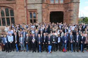 TMED10 Speakers, Chairs, Sponsors and Delegates - the Guildhall, Derry/Londonderry.