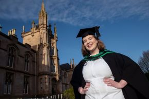 "Ulster University's ""singing nurse"" graduates"