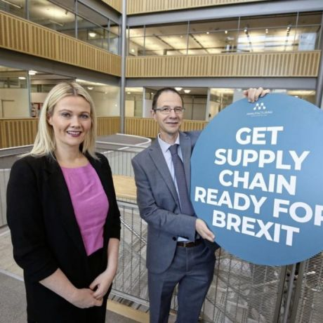 Ulster University Lecturer supporting local businesses ahead of Brexit