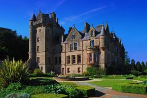 Twilight Abseil for Mind Your Mood at Belfast Castle