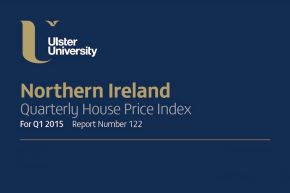 Northern Ireland Quarterly House Price Index for Q1 2015.