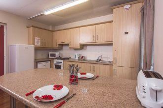 Kitchen/Lounge area-en-suite apartments DSV