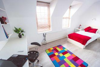 Bedroom in Agherton Village (2-6 bedflats)
