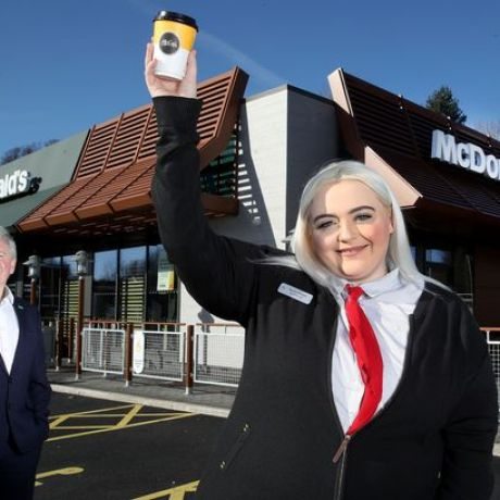 Naomi Hodges: McDonald\'s Employee of the Year