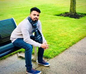 International student first to complete innovative Data Science degree at Magee