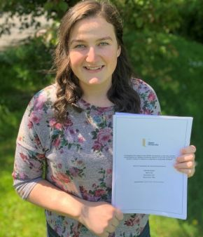 Ulster University graduate turns passion for the environment into a career