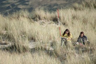 Environmental Science and geography students undertake fieldwork