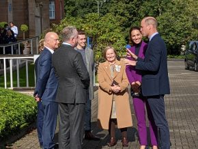 The Duke and Duchess of Cambridge Visit Ulster University's Magee Campus