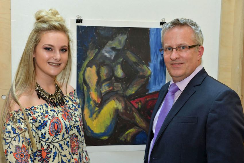 Ulster University showcases creative young talent from North Belfast