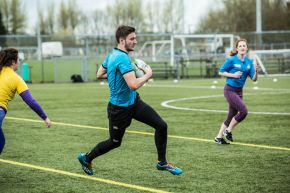 Block Wars - tag rugby at Coleraine