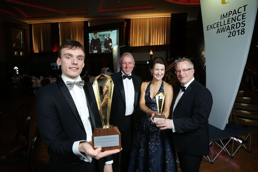 Innovative partnerships recognised at Ulster University's Impact Excellence Awards
