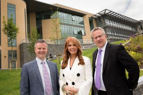 Roma Downey officially opens new multi-million pound teaching centre at Ulster University