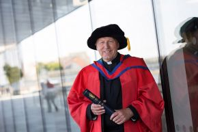 Honorary Graduate: The Very Reverend Dr John Owen Mann