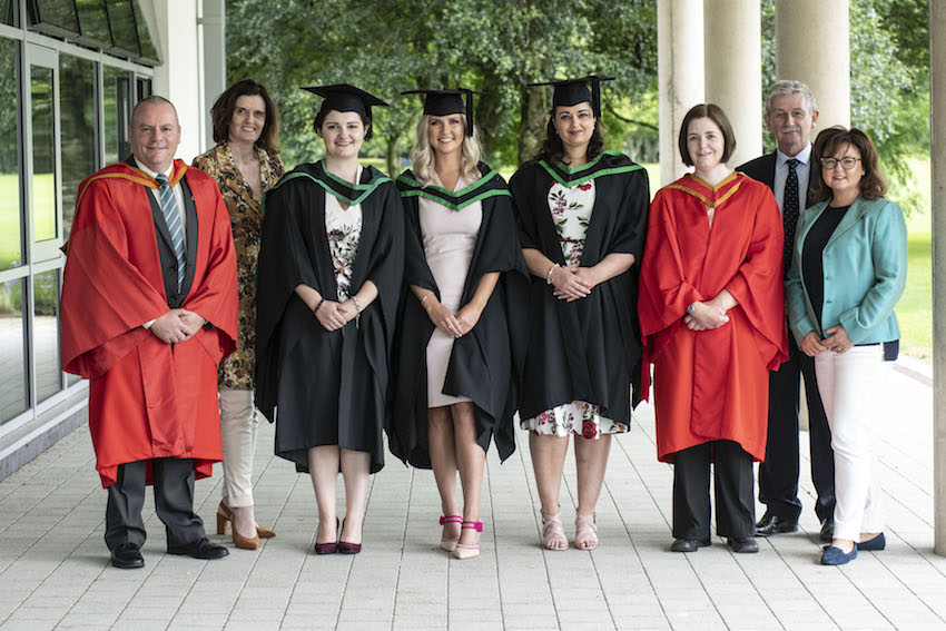 Earn-as-you-learn - First Higher Level Apprentices in applied pharmaceutical sciences graduate from Ulster University