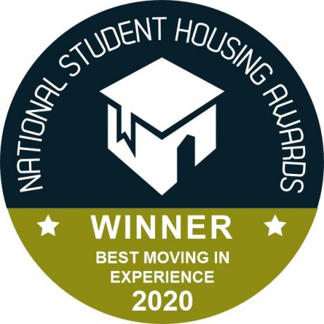 Ulster University student accommodation wins Best Moving In Experience Award
