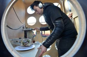 Making music at Ulster University's Festival of Art and Design