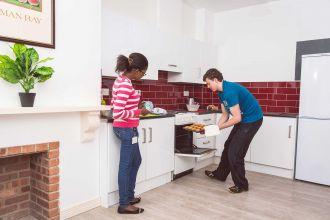 Kitchen area Agherton Village (2-6 bed flats)